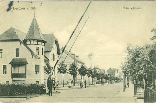 Lenzen-ad-Elbe-Bahnhofstrasse-1909